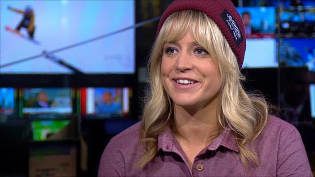 British snowboarder Jenny Jones