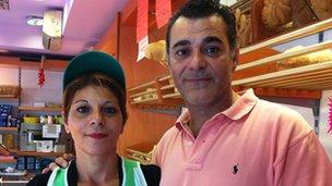 Oreste and Sabina Montalto