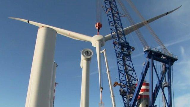 6MW wind turbine