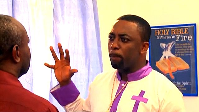 Scene from the film Praising The Lord Plus One