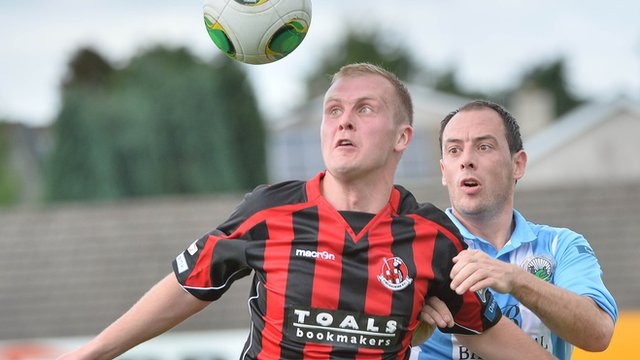 Action from Warrenpoint against Crusaders in the Irish Premiership