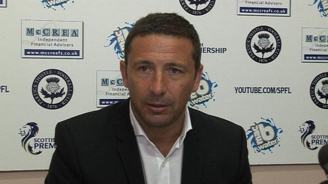 Interview - Aberdeen boss Derek Adams