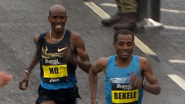 Mo Farah and Kenenisa Bekele