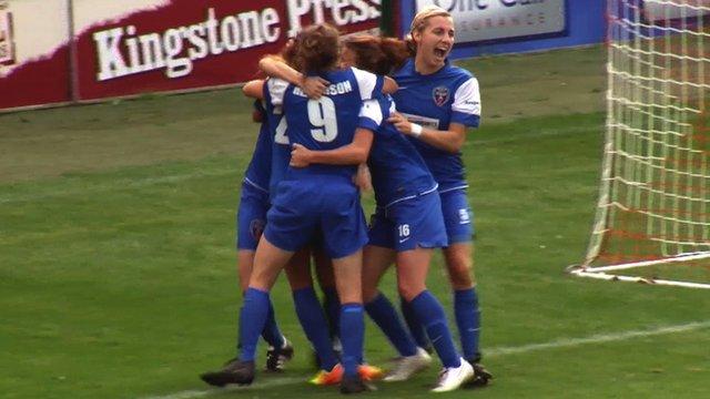 Bristol celebrate beating Doncaster