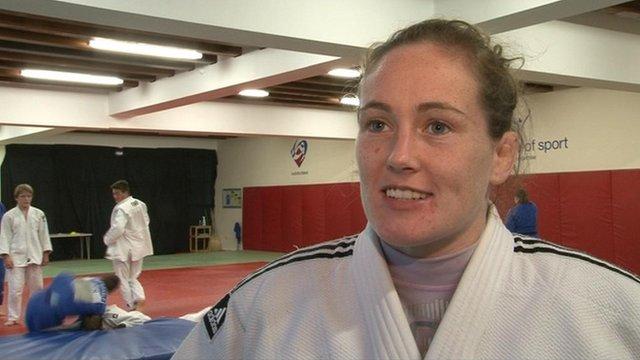 Judo player Connie Ramsay