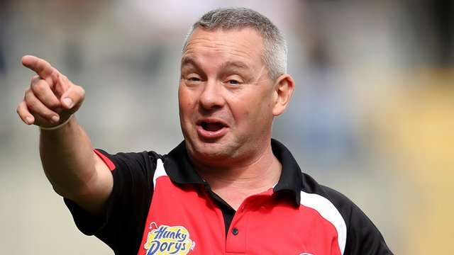 Tyrone minor manager Mickey Donnelly