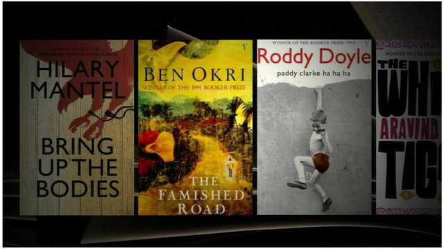 Man Booker Prize winners