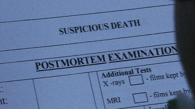 Post mortem form