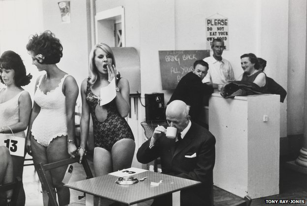 Beauty contestants, Southport, Merseyside, 1967 by Tony Ray-Jones © National Media Museum