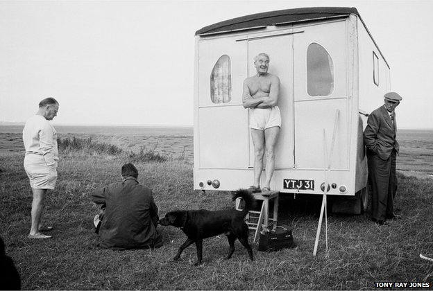 Location unknown, possible Morecambe, 1967 - 68 by Tony Ray-Jones © National Media Museum