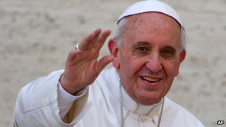 Pope Francis says the Catholic Church must strive to heal wounds.