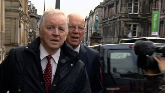 Bill Walker arrives at court to be sentenced