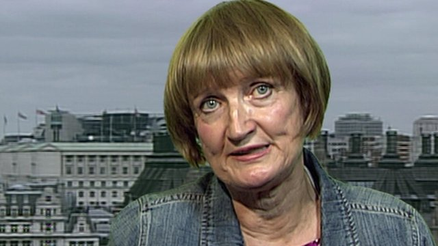 Dame Tessa Jowell is shocked by McBrides actions.