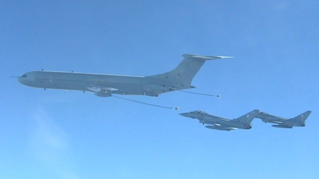 VC10 jetliners fly last mission