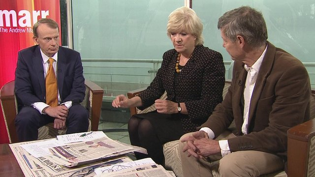 Andrew Marr Polly Toynbee Matthew Parris
