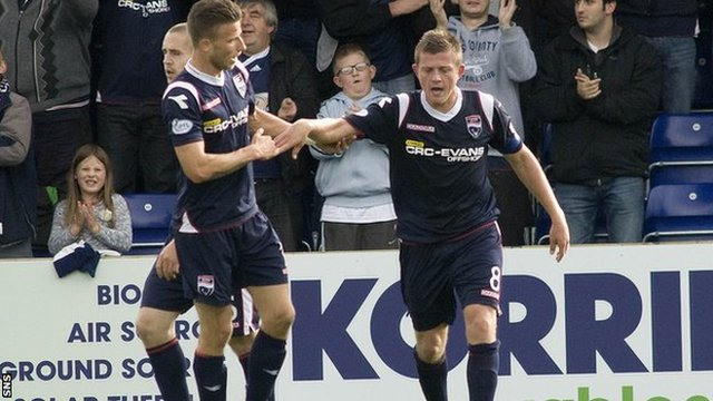 Highlights - Ross County 2-1 Hearts