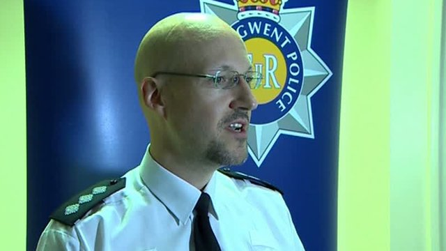 Ch Insp Huw Nicholas of Gwent Police