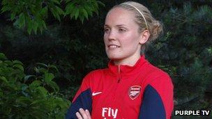Scotland player Kim Little