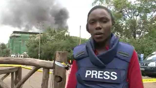Anne Soy in Nairobi