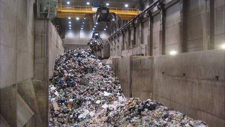 Norway waste-to-energy plant at Klemetsrud