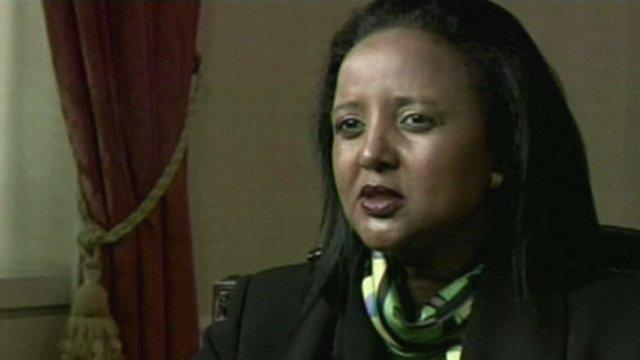 Kenyan Foreign Minister Amina Mohamed