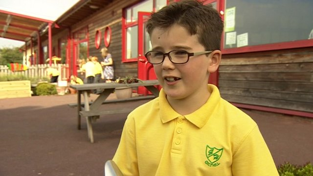Ben Rockley who is the young gardener of the year