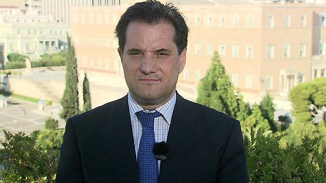 Greece's Health Minister, Adonis Georgiadis