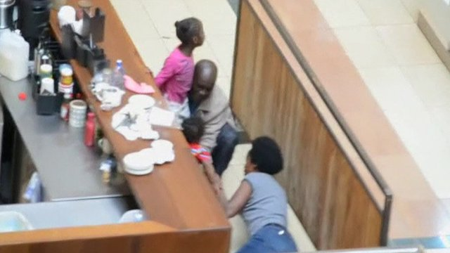 Family rescued from Westgate shopping mall, Nairobi
