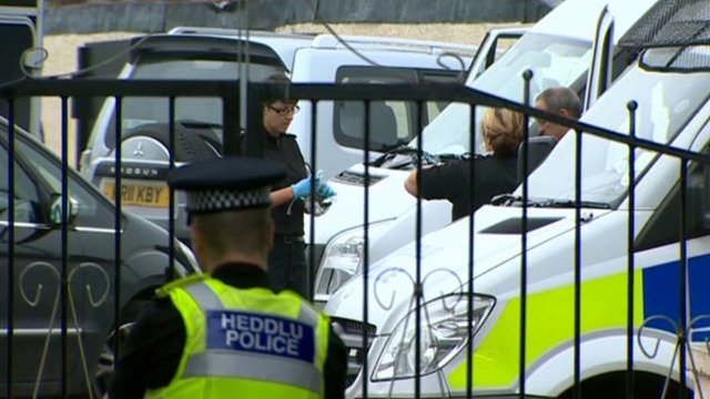 Police involved in the slavery inquiry