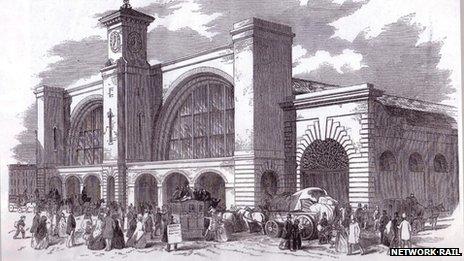 King's Cross in 1870-1900