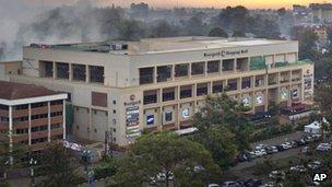 Westgate shopping centre, Nairobi