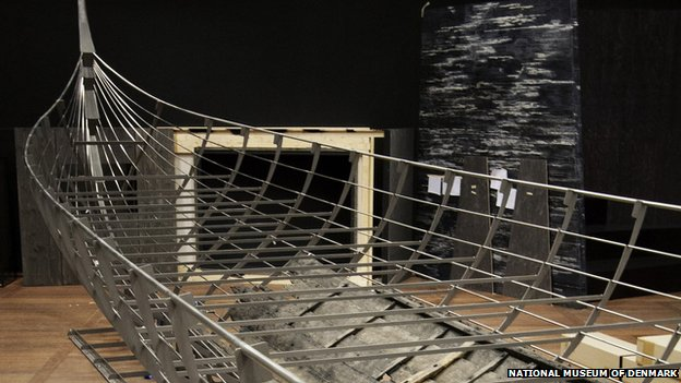 The Longship (Roskilde 6). The largest Viking ship ever discovered.