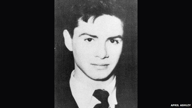 George Jamieson at 17
