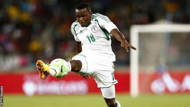Nigeria's Victor Obinna Nsofor
