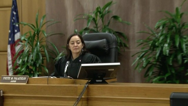 Judge Yvette Palazuelos, presiding over the civil suit brought by the Jackson family against promoters AEG