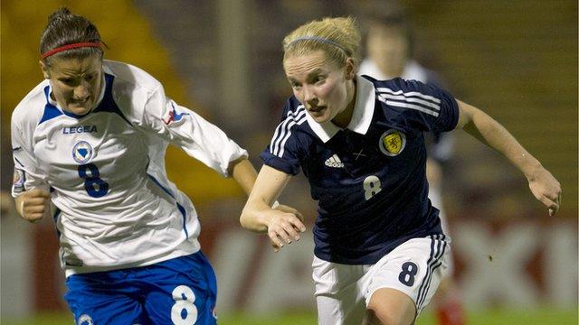 Highlights - Scotland 7-0 Bosnia (Gaelic)