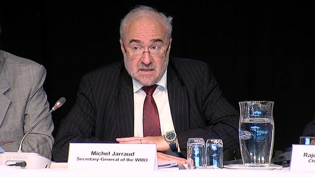 Michel Jarraud the Secretary-General of the World Meteorological Organization