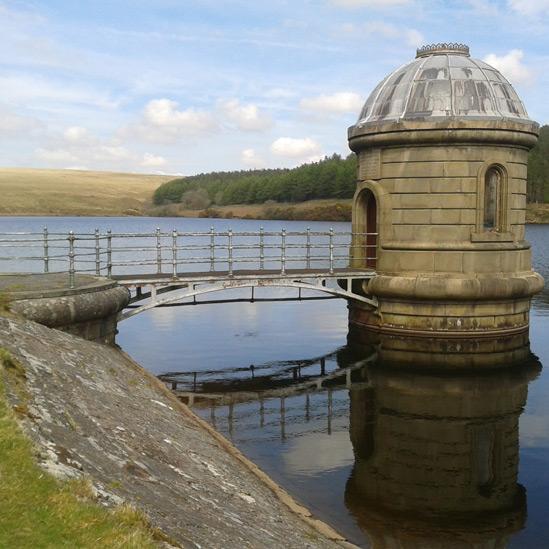 Reservoir water tower