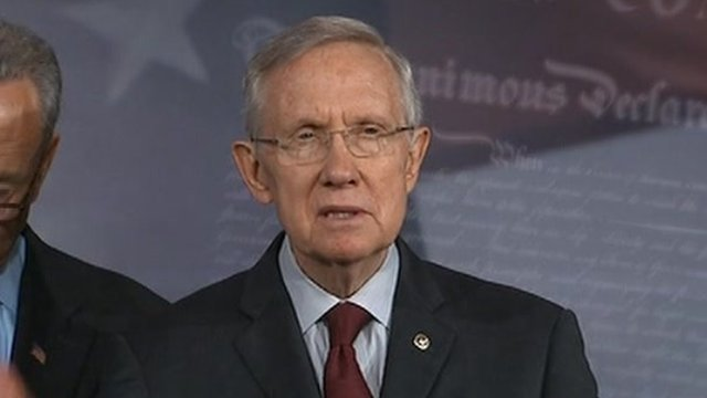 Harry Reid on 30 September 2013