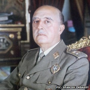 Gen Franco, in 1969