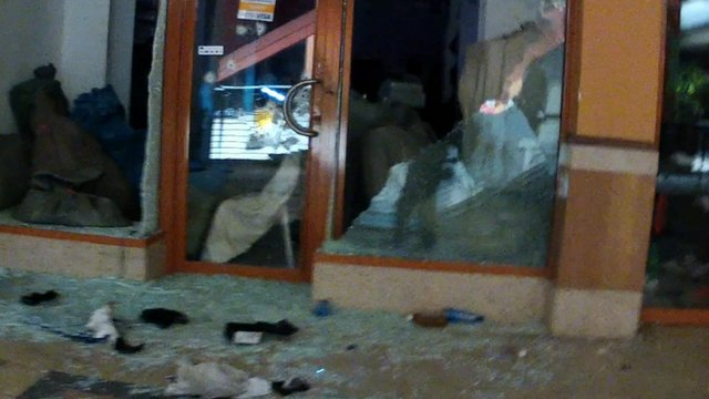 Looted shop inside Westgate shopping mall