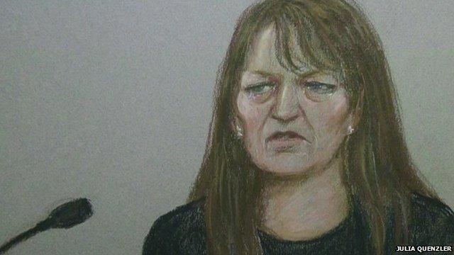Amanda Hutton denied the manslaughter of 4 year-old Hamzah Khan at Bradford Crown Court