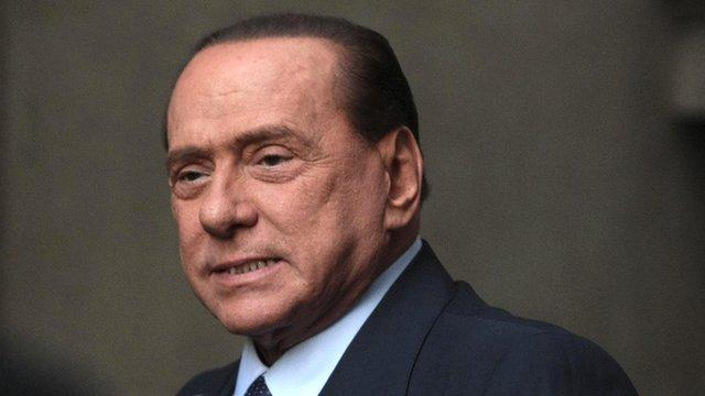 Italy's former Prime Minister, Silvio Berlusconi