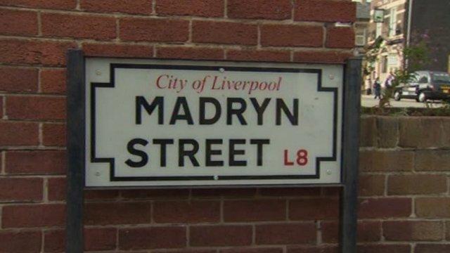 Stryd Madryn yn Lerpwl