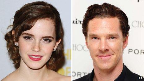 Emma Watson and Benedict Cumberbatch