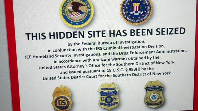FBI notice on website