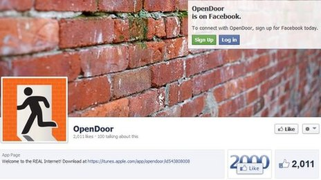 OpenDoor on Facebook