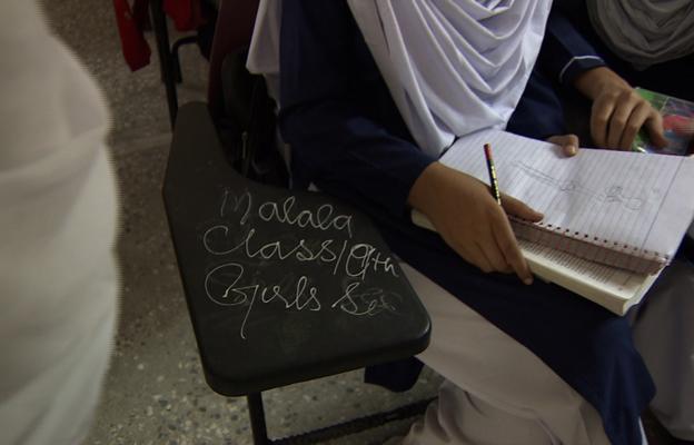 Malala's empty chair