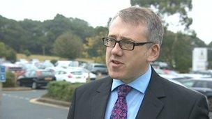 Liberal Democrat councillor Alex Folkes