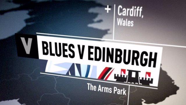 Blues v Edinburgh